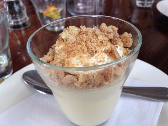Bistrot Pierre: Lemon posset