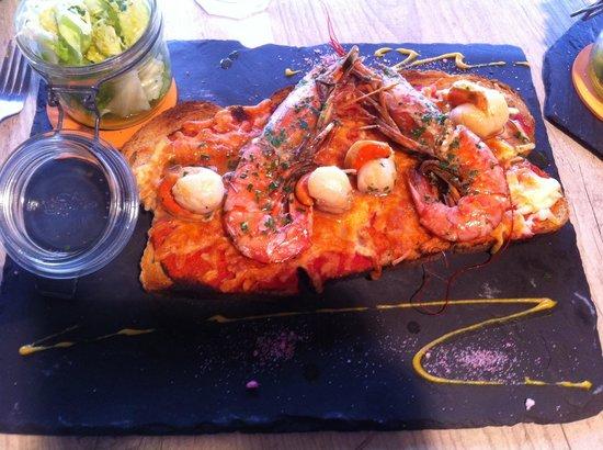 Stefiouz: Tartine fruits de mer