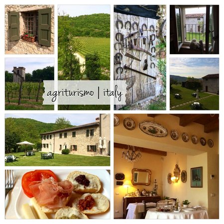 Agriturismo Delo Relais: Collage of photos from our favorite BnB in Italy :o)