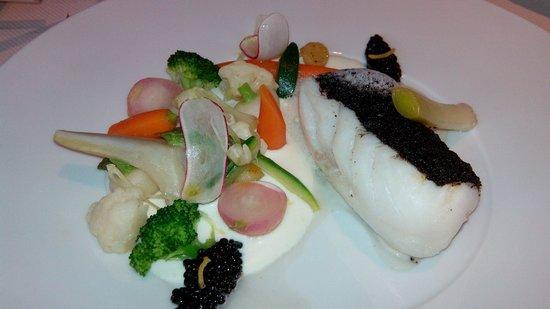 Les Hauts de Lille : Dos de cabillaud et caviar