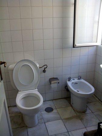 Hostal Alicia: Baño de la habitación 302. Asqueroso.