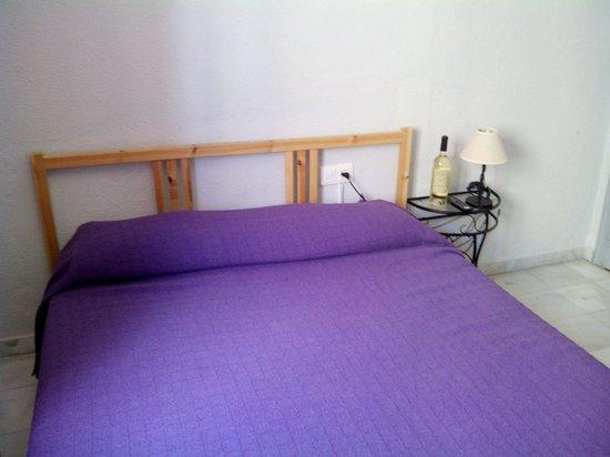 Hostal Alicia: Austeridad y suciedad resumen esta habitación 302.