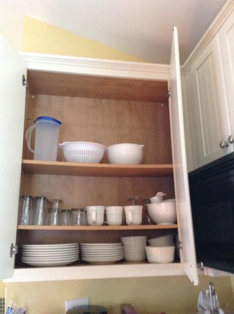 Wild Acres RV Resort and Campground: A full cupboard