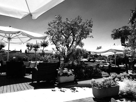 Hotel Caesius Thermae & Spa Resort: Bar esterno