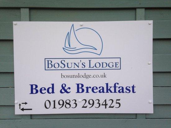 BoSun's Lodge B&B: Contact info