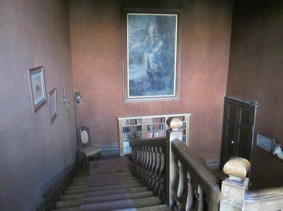 Château du Quengo : hall d'entrée