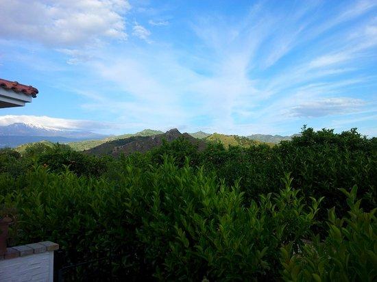 B&B Villa Valentina Taormina : panorama dalla camera