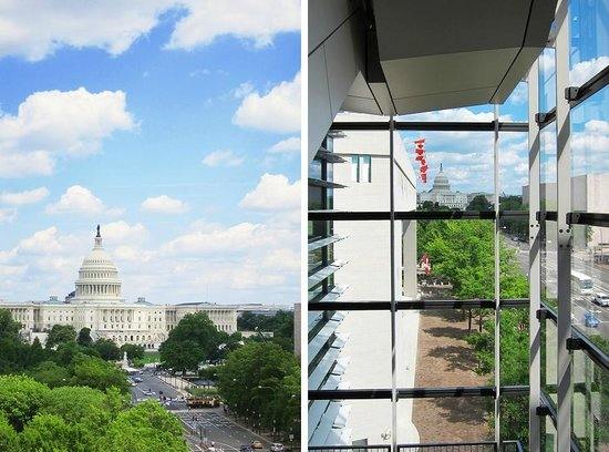 Newseum: Beautiful views of the Capitol