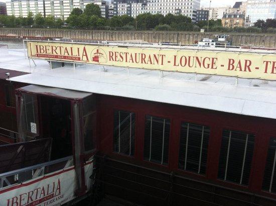 Restaurant le Libertalia: Péniche Libertalia