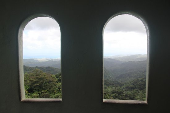 Yokahu Observation Tower - Upper Windows