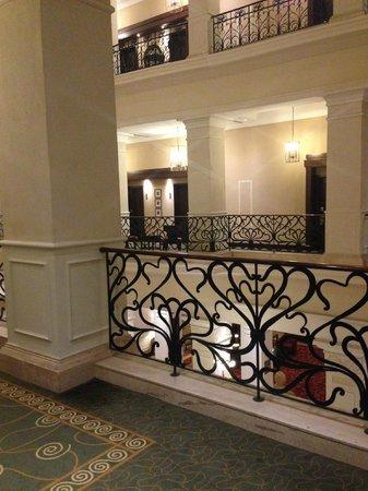 Corinthia Hotel Budapest: Inside of hotel