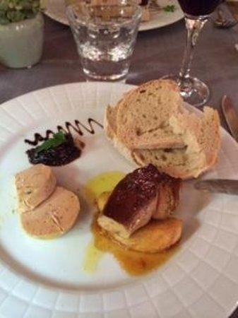 Auberge Le Bouc Bleu : Foie gras 2 ways