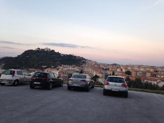 Panorama di Campobasso visto dal Don Guglielmo