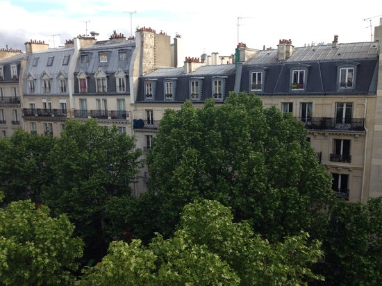 Grand Hotel Francais: View from balcony of the suite