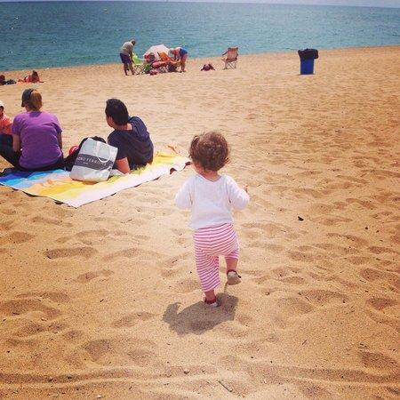 Golden Taurus Park Resort: The beach outside hotel.