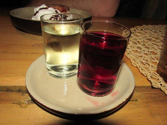Chata : cherry and grass vodka