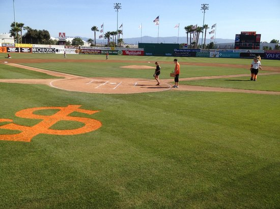 ‪Municipal Stadium, San Jose Giants‬