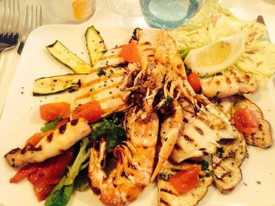 Port Garavan : L'assiette de la mer