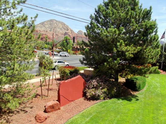 Sedona Real Inn and Suites: from our balcony