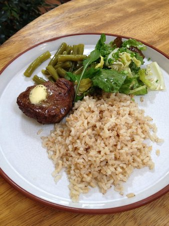Granja Heidi: Meat main from set menu