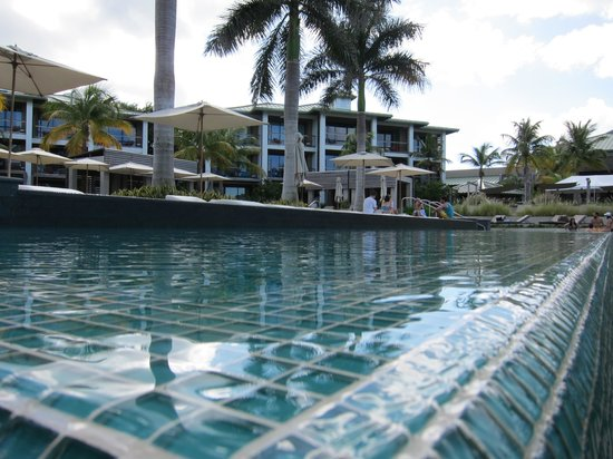 W Retreat & Spa Vieques: A view across one of the pools