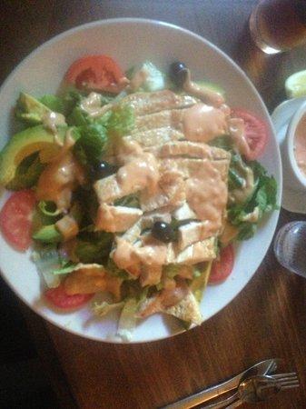 Saltgrass Steak House: Grilled chicken salad
