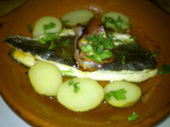 Restaurante Brisa do Rio : robalo (lubina)