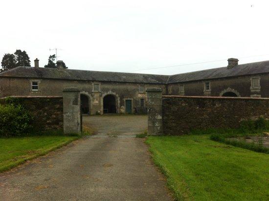 Ballinkeele House: farmyard