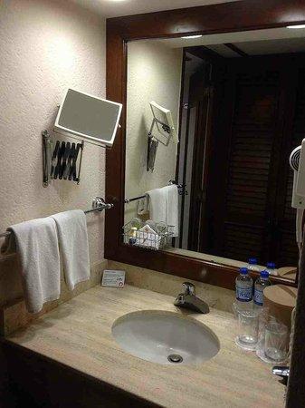 Hotel Posada de Tampico: Baño
