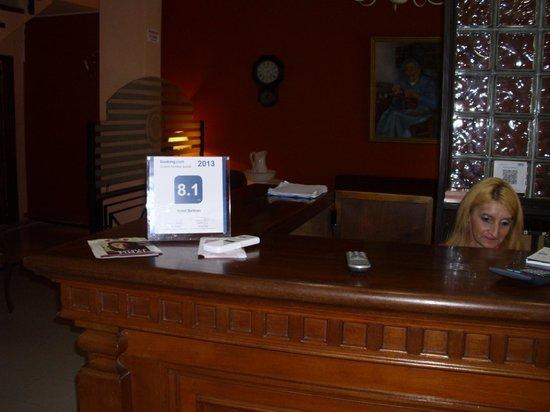 Hotel Beltran: recepcion