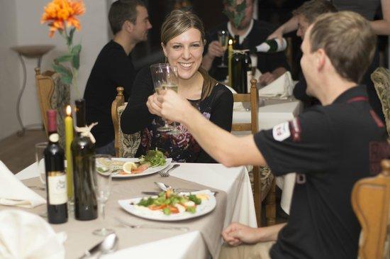 Hotel Grossbach : Restaurant