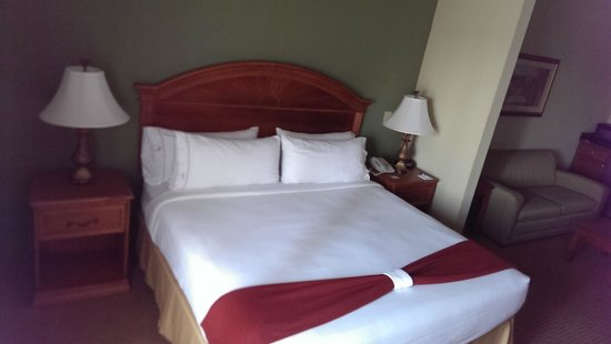 Holiday Inn Express Port Charlotte: Bed