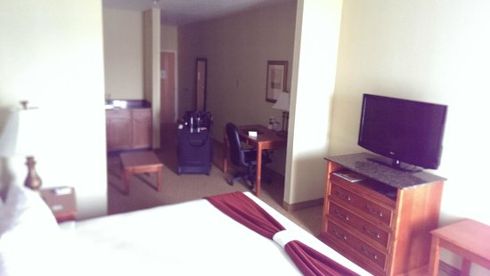 Holiday Inn Express Port Charlotte: Room size is very nice