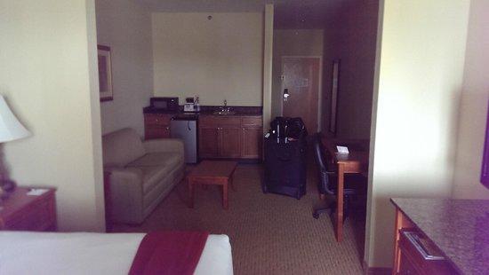 Holiday Inn Express Port Charlotte : Sofa / wet bar