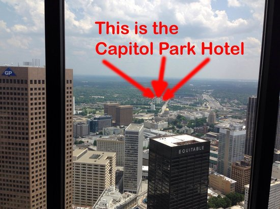 Ramada Plaza Atlanta Downtown Capitol Park : FAR!!!!! FAR!!!!! FAR!!!!!!