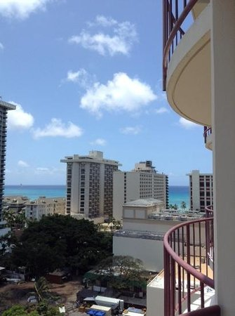 Waikiki Wave : view from 14th floor
