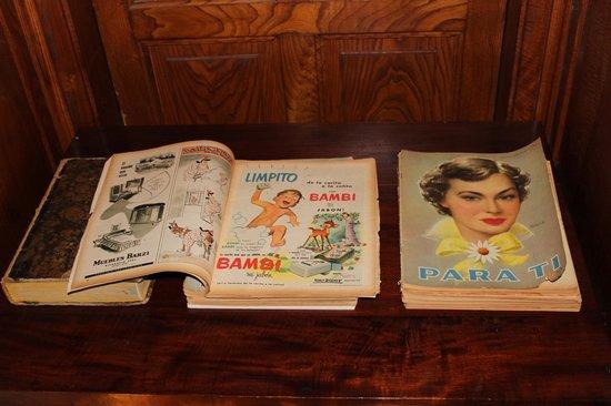 Els Jardins de la Martana: colección de revistas de los años 50, en la biblioteca