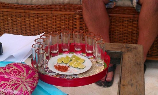 Can Cook in Cancun : Tequila offering