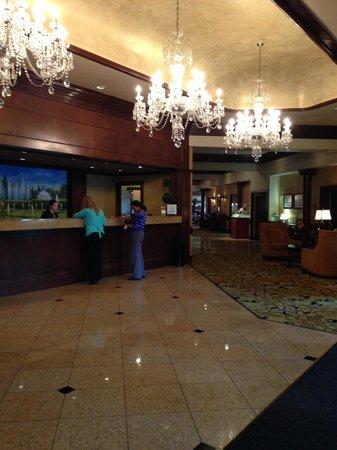 Hilton Wilmington / Christiana : Hotel Lobby
