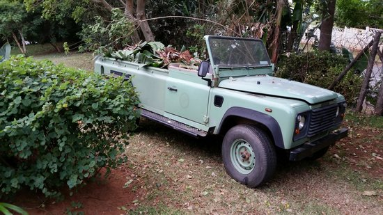 The Guesthouse: Old Land Rover