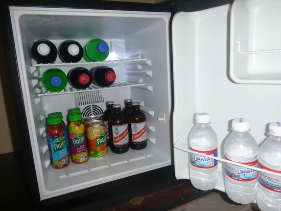 Beaches Ocho Rios Resort & Golf Club: Stocked refrigerator in concierge room
