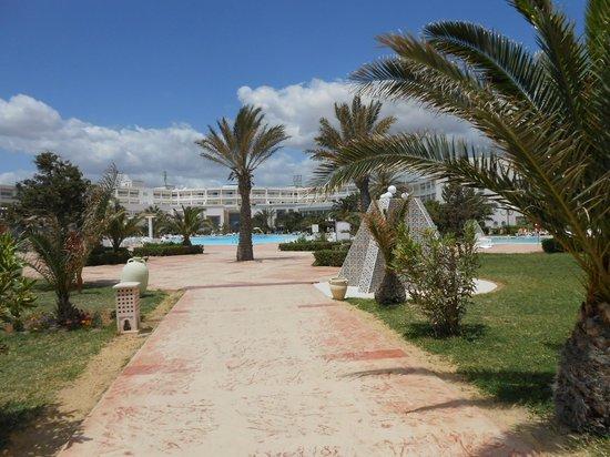 Hotel Riu Marillia: widok od strony morza