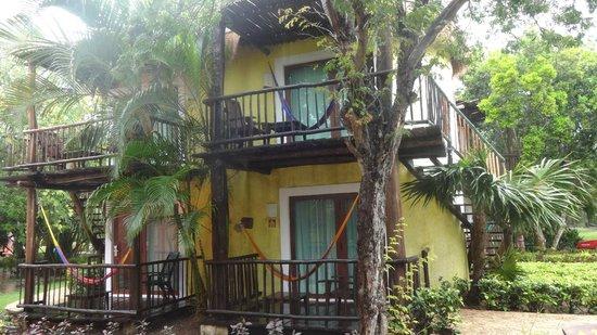 Iberostar Cozumel : Una habitación con estilo rustico