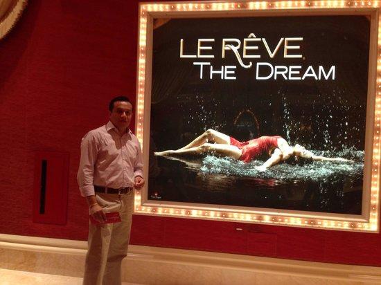 Le Reve - The Dream : Antes de entrar