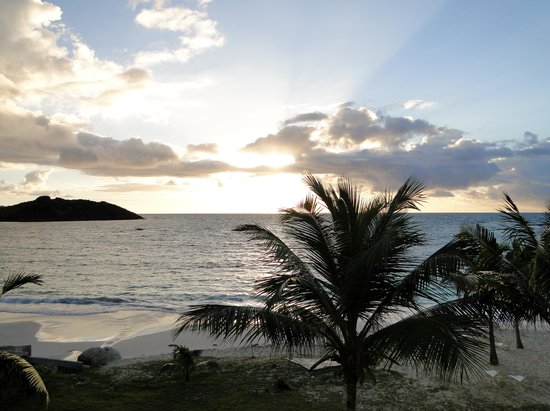The Westin Dawn Beach Resort & Spa, St. Maarten: View of sunrise from room 3192