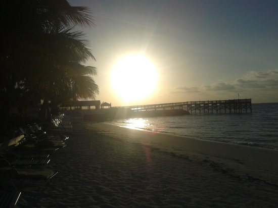 Key Colony Beach Motel : sunrise around 7am