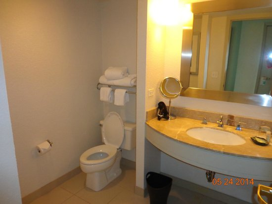Westin Tampa Harbour Island: 624 bathroom