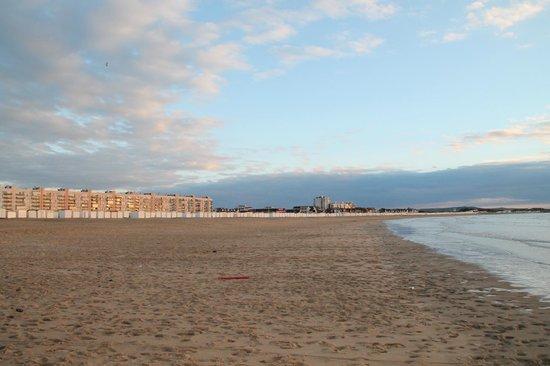 Plage de Calais : plage de sable fin