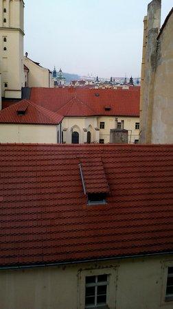 Central Hotel Prague : otra vista desde la habitación