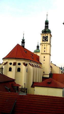 Central Hotel Prague : preciosa vista desde la habitacion